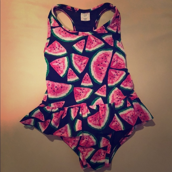 b42074c4596f0 Gap Kids Watermelon Swimsuit